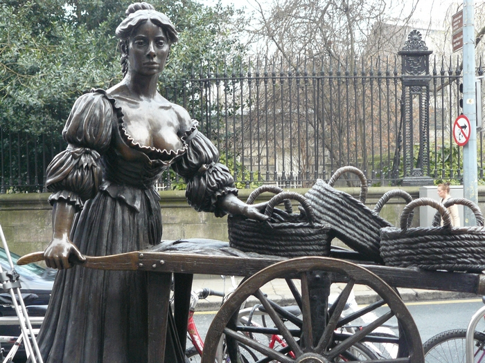 La célèbre Molly Malone###Dublin